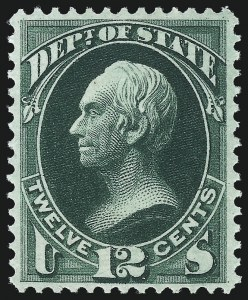 Sale Number 1061, Lot Number 4167, Officials, Cont.1c, 12c State (O57, O63), 1c, 12c State (O57, O63)
