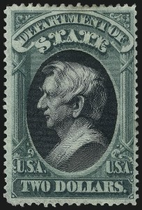 Sale Number 1061, Lot Number 4171, Officials, Cont.$2.00 State (O68), $2.00 State (O68)