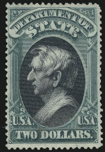 Sale Number 1061, Lot Number 4172, Officials, Cont.$2.00 State (O68), $2.00 State (O68)