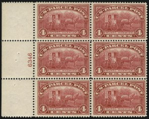 Sale Number 1061, Lot Number 4223, Newspapers and Periodicals thru Parcel Post4c Parcel Post (Q4), 4c Parcel Post (Q4)