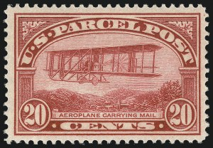 Sale Number 1061, Lot Number 4226, Newspapers and Periodicals thru Parcel Post20c Parcel Post (Q8), 20c Parcel Post (Q8)