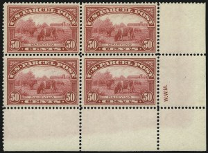 Sale Number 1061, Lot Number 4231, Newspapers and Periodicals thru Parcel Post50c Parcel Post (Q10), 50c Parcel Post (Q10)