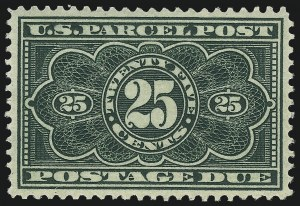 Sale Number 1061, Lot Number 4237, Newspapers and Periodicals thru Parcel Post25c Dark Green, Parcel Post Postage Due (JQ5), 25c Dark Green, Parcel Post Postage Due (JQ5)