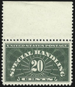 Sale Number 1061, Lot Number 4238, Newspapers and Periodicals thru Parcel Post20c Special Handling (QE3), 20c Special Handling (QE3)