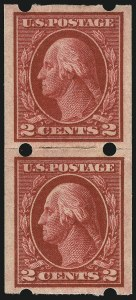 Sale Number 1061, Lot Number 4240, Private Vending Machine Perforations2c Dark Carmine, Brinkerhoff Ty. IIa (409), 2c Dark Carmine, Brinkerhoff Ty. IIa (409)