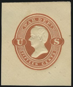 Sale Number 1061, Lot Number 4257, Postal Stationery15c War, Red on Cream, Cut Square (UO66, UPSS WD16), 15c War, Red on Cream, Cut Square (UO66, UPSS WD16)
