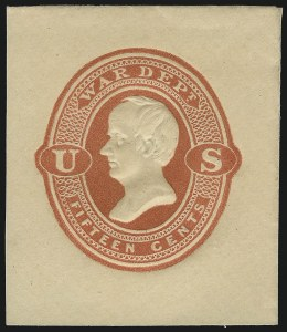 Sale Number 1061, Lot Number 4258, Postal Stationery15c War, Red on Cream, Cut Square (UO66, UPSS WD16), 15c War, Red on Cream, Cut Square (UO66, UPSS WD16)