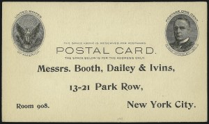 Sale Number 1061, Lot Number 4260, Postal Stationery1c Black on Buff, Full-Face McKinley Postal Card (UX17; USPCC S21), 1c Black on Buff, Full-Face McKinley Postal Card (UX17; USPCC S21)
