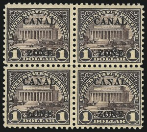 Sale Number 1061, Lot Number 4572, U.S. Possessions and U.N.CANAL ZONE, 1926, $1.00 Violet Brown (95), CANAL ZONE, 1926, $1.00 Violet Brown (95)