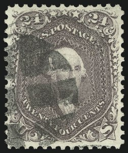Sale Number 1062, Lot Number 203, 1861-66 Issue, cont. (Scott 70-70d)24c Red Lilac (70), 24c Red Lilac (70)