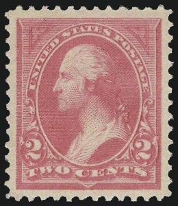 Sale Number 1062, Lot Number 433, 1894 Unwatermarked Bureau Issue (Scott 246-263)2c Pink, Ty. I (248), 2c Pink, Ty. I (248)