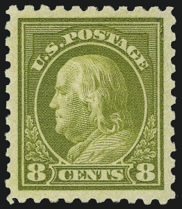 Sale Number 1062, Lot Number 668, 1916-17 Issues (Scott 462-480)8c Olive Green (470), 8c Olive Green (470)