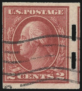 Sale Number 1062, Lot Number 681, 1917-19 Issues (Scott 481-524)2c Deep Rose, Ty. Ia, Imperforate, Schermack Ty. III Private Perforation (482A), 2c Deep Rose, Ty. Ia, Imperforate, Schermack Ty. III Private Perforation (482A)