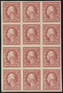 Sale Number 1062, Lot Number 682, 1917-19 Issues (Scott 481-524)5c Carmine, Imperforate, Error (485), 5c Carmine, Imperforate, Error (485)