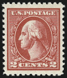 Sale Number 1062, Lot Number 720, 1918-20 Issues (Scott 525-547a)2c Carmine, Ty. VI (528A), 2c Carmine, Ty. VI (528A)