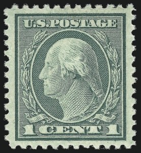 Sale Number 1062, Lot Number 733, 1918-20 Issues (Scott 525-547a)1c Green, Rotary Perf 11 (545), 1c Green, Rotary Perf 11 (545)