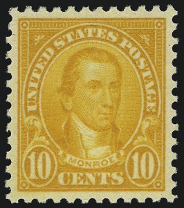 Sale Number 1062, Lot Number 740, 1922 and Later Issues (Scott 551-3260)10c Orange (562), 10c Orange (562)