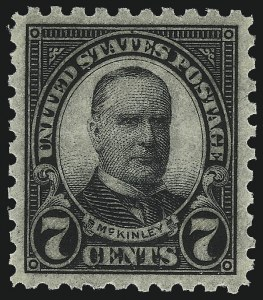 Sale Number 1062, Lot Number 746, 1922 and Later Issues (Scott 551-3260)7c Black, Perf 10 (588), 7c Black, Perf 10 (588)