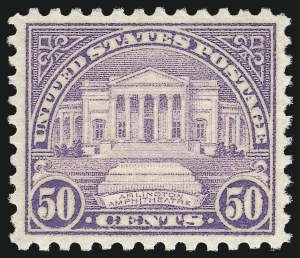 Sale Number 1062, Lot Number 771, 1922 and Later Issues (Scott 551-3260)50c Lilac (701), 50c Lilac (701)