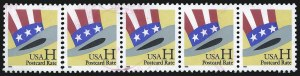 "Sale Number 1062, Lot Number 773, 1922 and Later Issues (Scott 551-3260)H Stamp, Uncle Sam's Hat, ""Postcard Rate"" (3260 var), H Stamp, Uncle Sam's Hat, ""Postcard Rate"" (3260 var)"