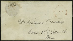 Sale Number 1063, Lot Number 1725, Local Posts: Adams thru Cummings & WrightPhiladelphia Despatch Post, Philadelphia Pa., 3c Red (15L1), Philadelphia Despatch Post, Philadelphia Pa., 3c Red (15L1)