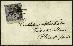 "Sale Number 1063, Lot Number 1727, Local Posts: Adams thru Cummings & WrightPhiladelphia Despatch Post, Philadelphia Pa., (3c) Black on Grayish, ""R & Co."" Initials (15L3), Philadelphia Despatch Post, Philadelphia Pa., (3c) Black on Grayish, ""R & Co."" Initials (15L3)"