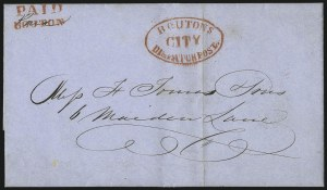 Sale Number 1063, Lot Number 1746, Local Posts: Adams thru Cummings & WrightBouton's City Despatch Post, Bouton's City Despatch Post