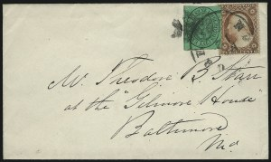 Sale Number 1063, Lot Number 1751, Local Posts: Adams thru Cummings & WrightBoyd's City Express, New York N.Y., 2c Black on Green (20L14), Boyd's City Express, New York N.Y., 2c Black on Green (20L14)