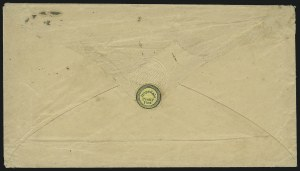Sale Number 1063, Lot Number 1778, Local Posts cont: City Dispatch thru Whittelsey`s, Group LotsHopedale Penny Post, Milford Mass., (1c) Black on Yellow Wove (84L3), Hopedale Penny Post, Milford Mass., (1c) Black on Yellow Wove (84L3)