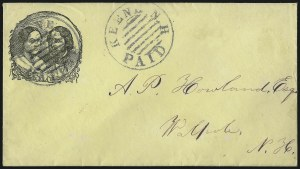 Sale Number 1063, Lot Number 1957, Presidential Campaigns and Memorabilia: Washington thru 1860 ElectionKeene N.H. Paid, Keene N.H. Paid