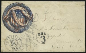 "Sale Number 1063, Lot Number 2089, Union Patriotics""Nashville Ten. May 19, 1862"", ""Nashville Ten. May 19, 1862"""