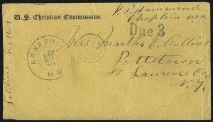 Sale Number 1063, Lot Number 2099, Sanitary CommissionU.S. Christian Commission, U.S. Christian Commission