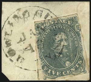 Sale Number 1064, Lot Number 137, General Issues off-Cover: Scott 15c Green, Stone 1-2 (1), 5c Green, Stone 1-2 (1)