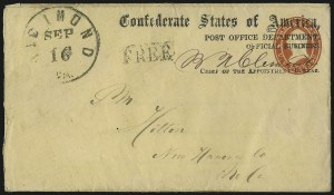 Sale Number 1064, Lot Number 359, Official ImprintsPost Office Department, Official Business, Chief of the Appointment Bureau, Post Office Department, Official Business, Chief of the Appointment Bureau