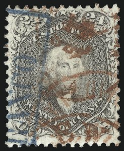 Sale Number 1067, Lot Number 1063, 1861-66 Issue, cont. (Scott 71-78b)24c Lilac (78), 24c Lilac (78)
