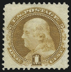 Sale Number 1067, Lot Number 1099, 1869 Pictorial Issue and 1875 Re-Issue (Scott 112b-133a)1c Buff, Without Grill (112b), 1c Buff, Without Grill (112b)