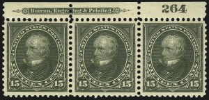 Sale Number 1067, Lot Number 1304, 1894-98 Bureau Issues (Scott 247-284)15c Olive Green (284), 15c Olive Green (284)