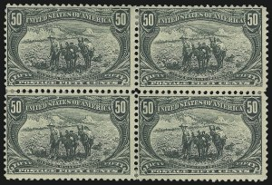 Sale Number 1067, Lot Number 1309, 1898 Trans-Mississippi Issue (Scott 285-293)1c-50c Trans-Mississippi (285-291), 1c-50c Trans-Mississippi (285-291)