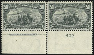 Sale Number 1067, Lot Number 1310, 1898 Trans-Mississippi Issue (Scott 285-293)1c-50c Trans-Mississippi (285-291), 1c-50c Trans-Mississippi (285-291)