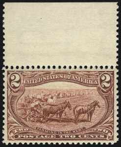 Sale Number 1067, Lot Number 1311, 1898 Trans-Mississippi Issue (Scott 285-293)2c Trans-Mississippi (286), 2c Trans-Mississippi (286)