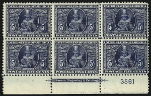 Sale Number 1067, Lot Number 1413, Louisiana Purchase, Jamestown and 1908-09 Issues (Scott 323-366)5c Jamestown (330), 5c Jamestown (330)