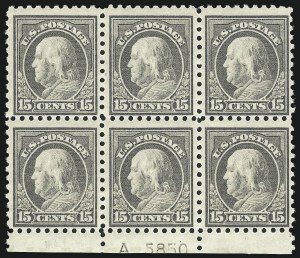Sale Number 1067, Lot Number 1526, 1912-14 Issues (Scott 407-446)15c Gray (437), 15c Gray (437)