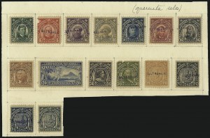 "Sale Number 1067, Lot Number 1928, U.S. Possessions: Philippines, 1906-45PHILIPPINES, 1906, 2c-10p Regular Issue, ""Ultramar"" Ovpts. (241S-254S, E2S), PHILIPPINES, 1906, 2c-10p Regular Issue, ""Ultramar"" Ovpts. (241S-254S, E2S)"