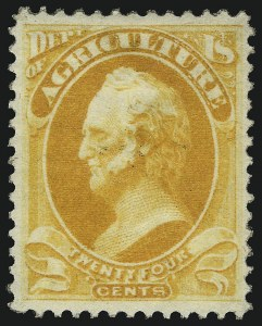 Sale Number 1067, Lot Number 2435, Group Lots by Issue: Air Post thru Confederate States1c-30c Agriculture (O1-O9), 1c-30c Agriculture (O1-O9)