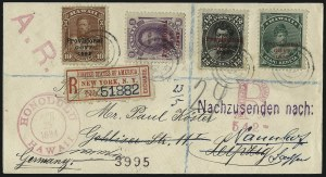 Sale Number 1068, Lot Number 1003, Hawaii: 1893 Provisional Ovpts.HAWAII, 1893, 12c Black, Red Ovpt. (62), HAWAII, 1893, 12c Black, Red Ovpt. (62)