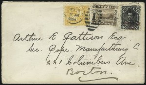Sale Number 1068, Lot Number 1004, Hawaii: 1893 Provisional Ovpts.HAWAII, 1893, 12c Black, Red Ovpt. (62), HAWAII, 1893, 12c Black, Red Ovpt. (62)