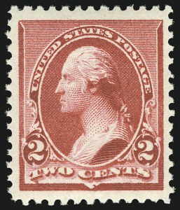 Sale Number 1068, Lot Number 171, 1870-93 Bank Note Issues2c Carmine (220), 2c Carmine (220)