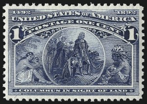 Sale Number 1068, Lot Number 178, 1893 Columbian thru 1894-98 Issues1c Columbian (230), 1c Columbian (230)