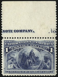 Sale Number 1068, Lot Number 179, 1893 Columbian thru 1894-98 Issues1c Columbian (230), 1c Columbian (230)