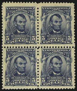 Sale Number 1068, Lot Number 225, 1902-08, Louisiana Purchase Issues5c Blue (304), 5c Blue (304)